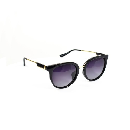 Holly Black Ladies Polarzied Gold Detailing Cateye