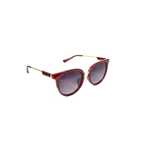 Holly Red Ladies Polarzied Gold Detailing Cateye