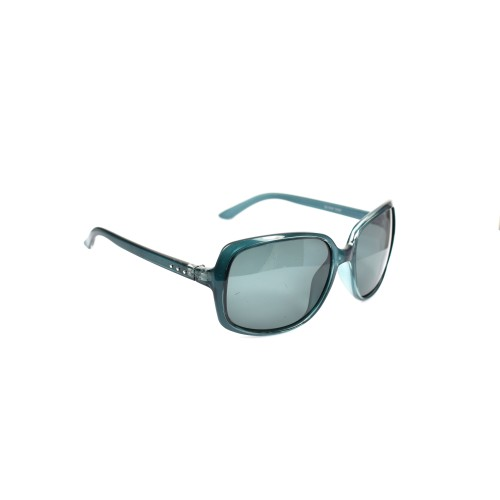 Xena Retro Turquoise Blue Ladies Polarized Cateye