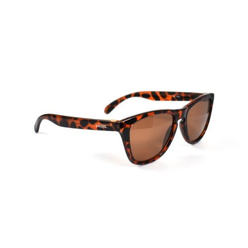 Vincenzo Brown Wayfarer Polarized Sunglasses
