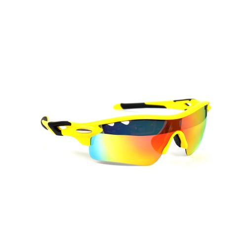 Vidor Yellow Sports Polarized Sunglasses