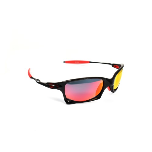 Vance Black Sports Red  Stripes Revo Lenses