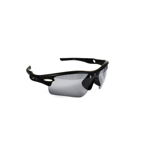 Victor Black Sports Polarized Grey Lens