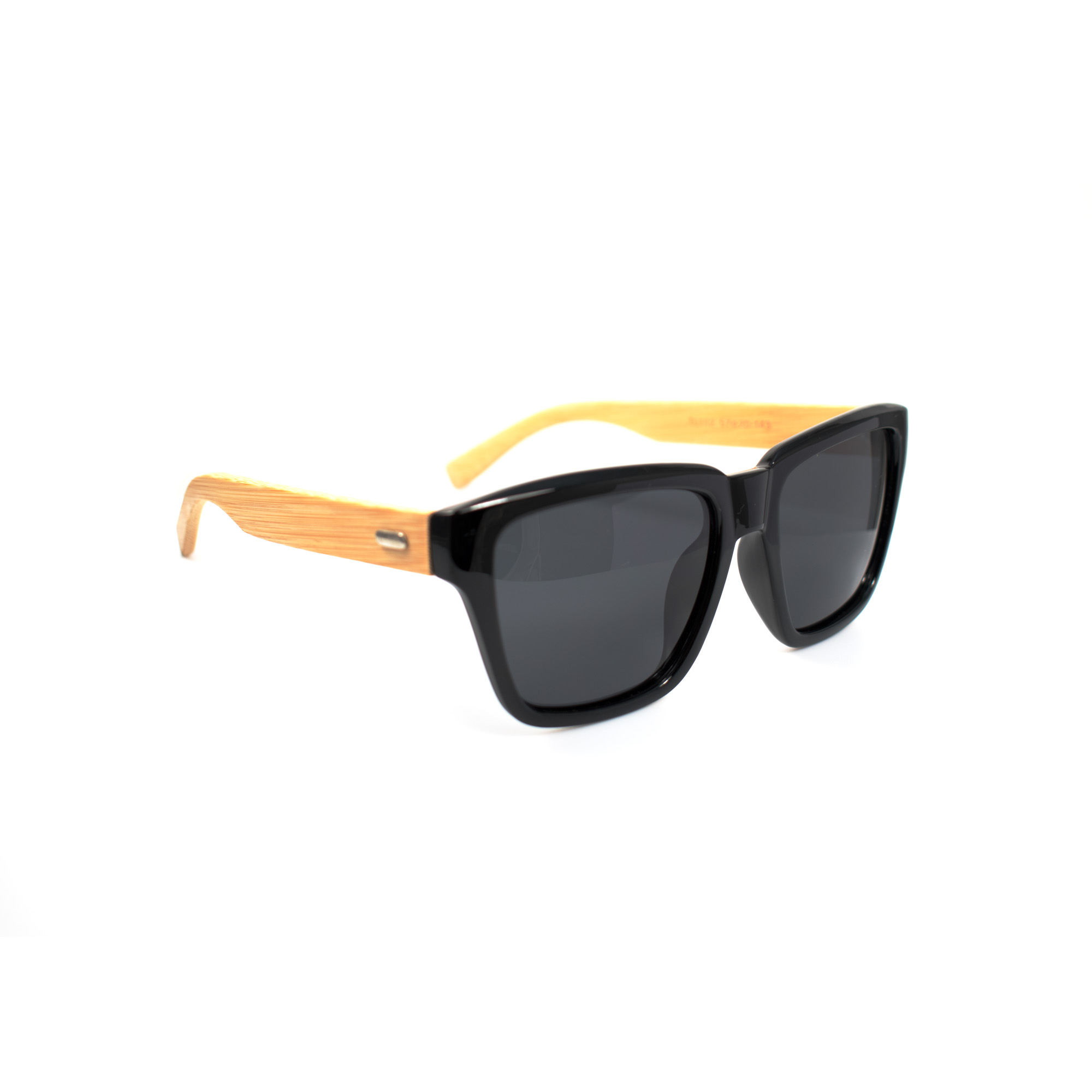 Harrison Bamboo Temple Polarized Sunglasses