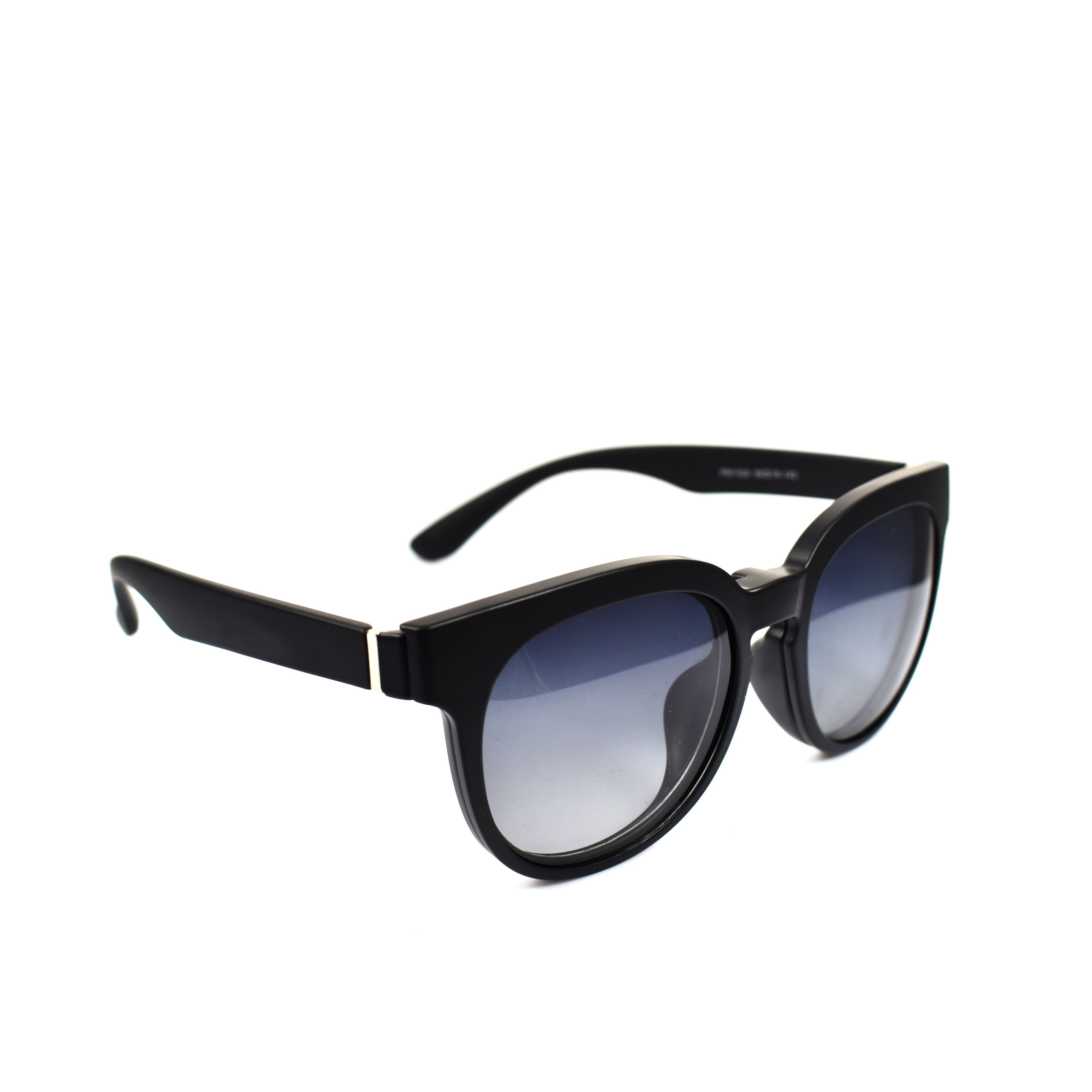 Hagar Black Wayfarer Magnetic Clip-On Polarised