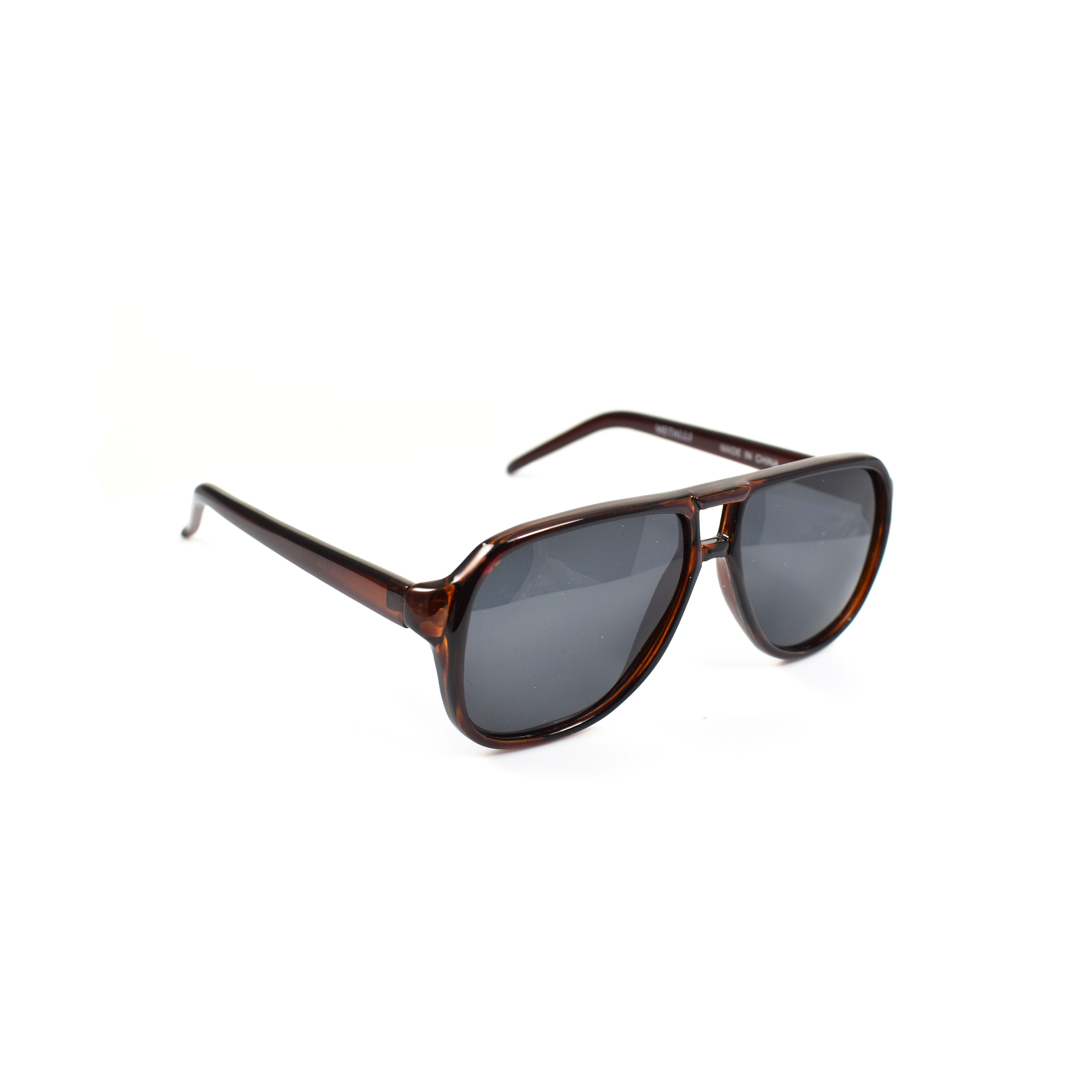 Xyliana Retro Brown Aviator Polarized
