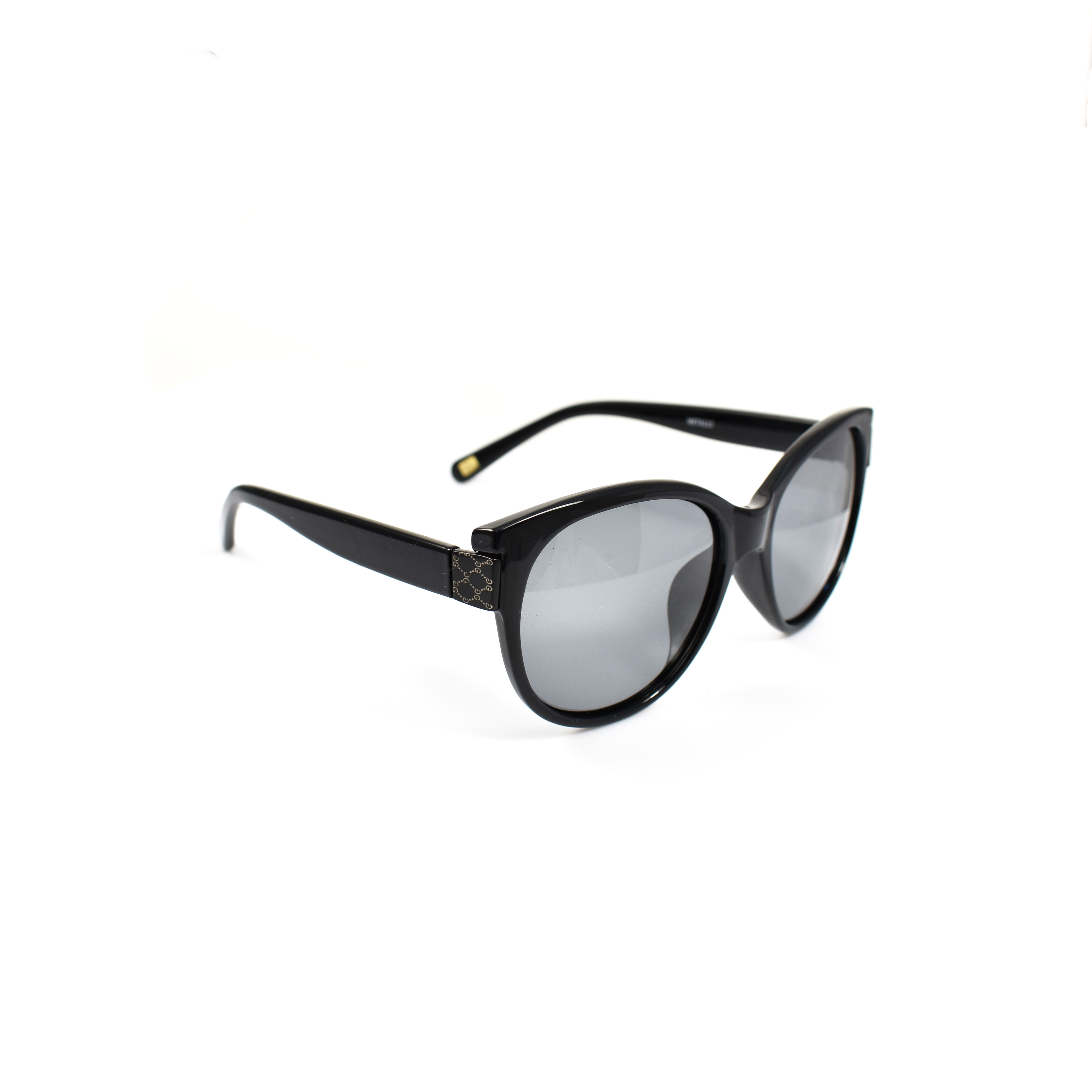 Haley Black Ladies Polarized Cateye